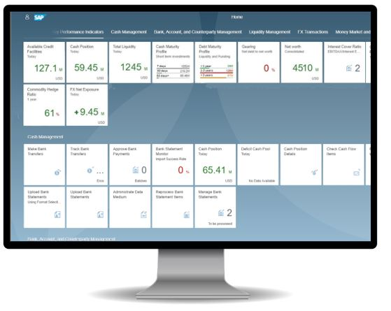 Successful go-live with SAP Treasury & Risk Management on S/4HANA