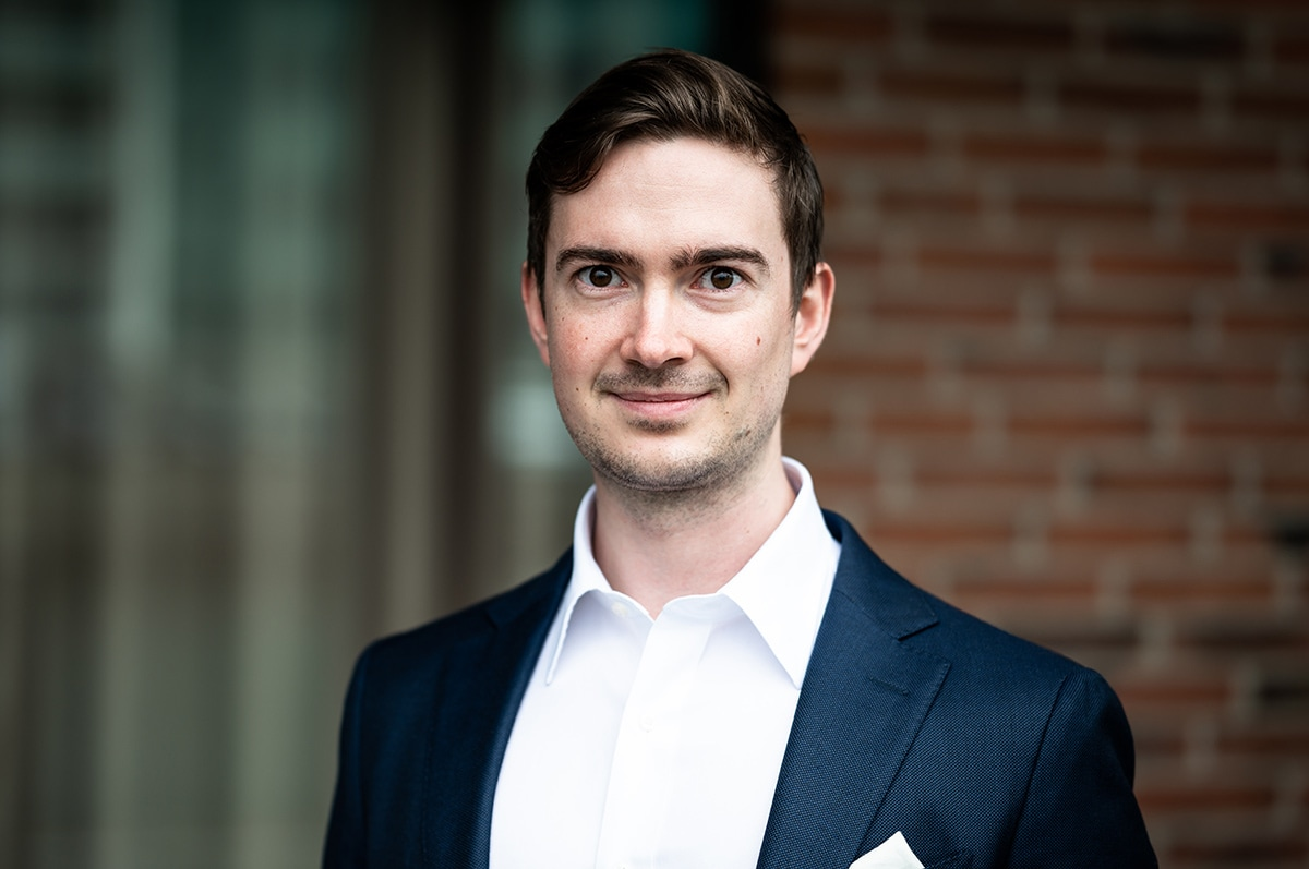 Infiniance welcomes Sebastian Larsen as a new Consultant